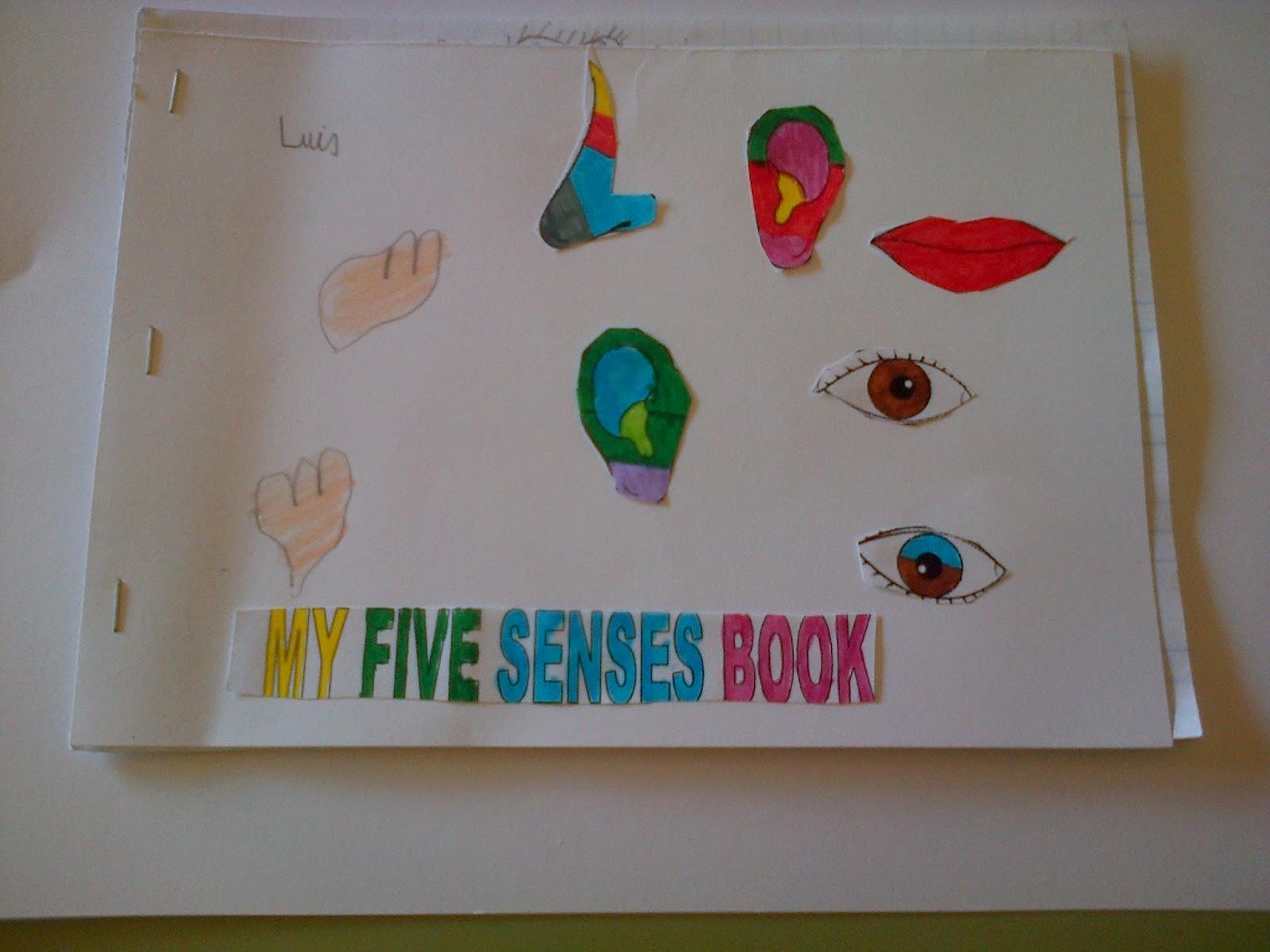 my five senses book pdf