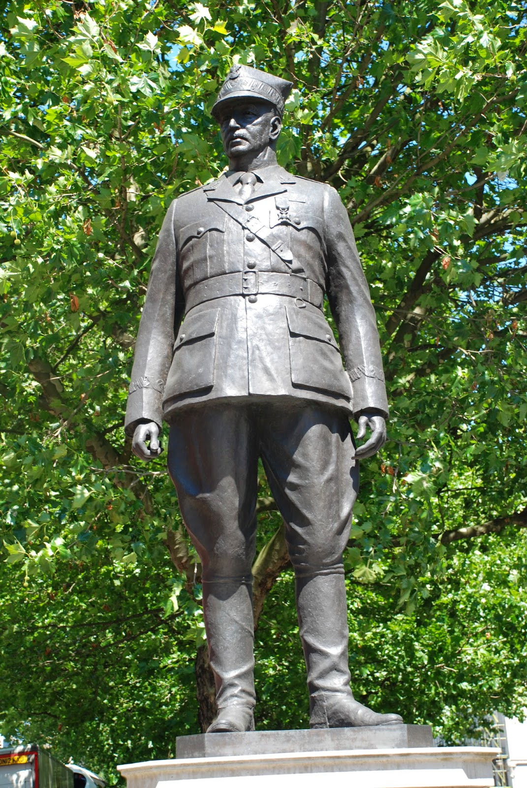 General Sikorski, Portland Place, London