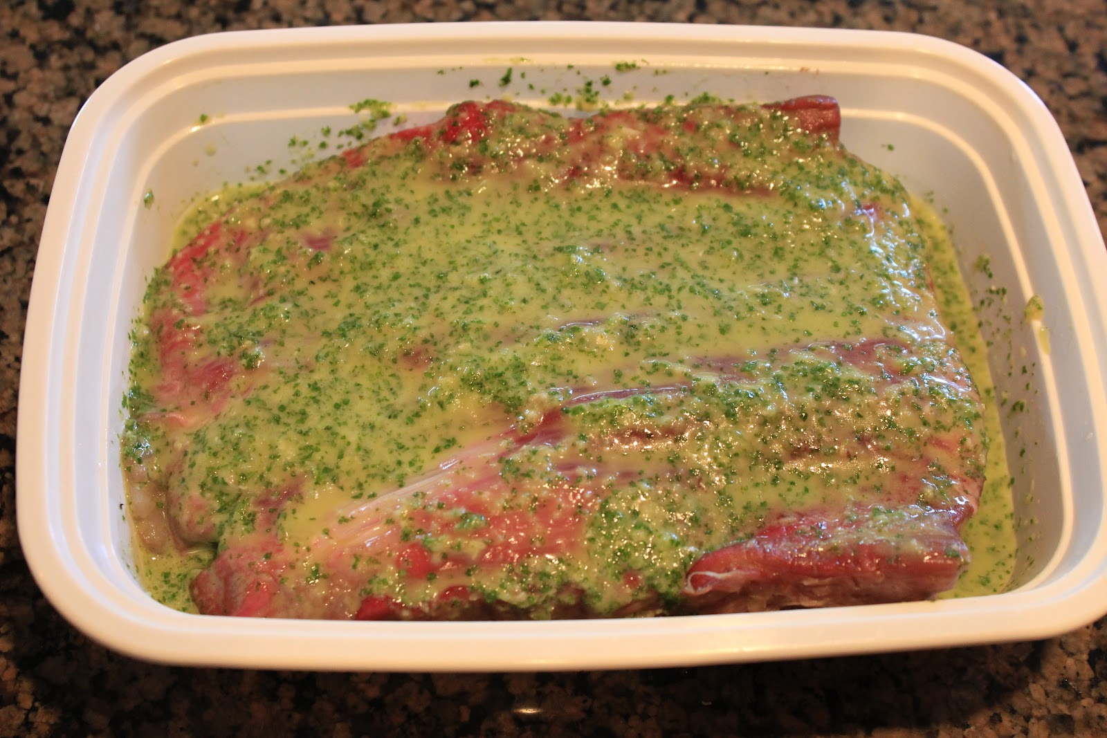 Never trust a skinny cook....: Cilantro lime flank steak