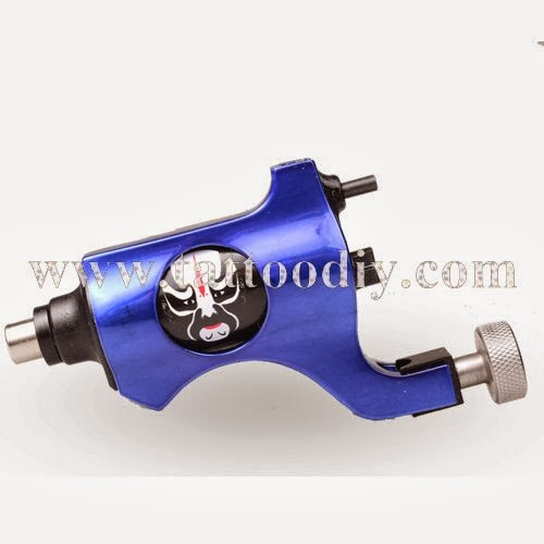 Tattoo supplies new arrival tattoo machine blue peking for Difference between shader and liner tattoo machine