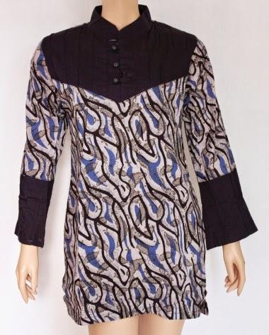 Baju atasan muslim batik modern