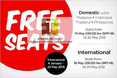 AirAsia FREE Seats 2012