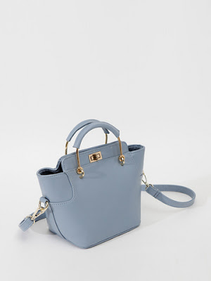 Versatile Solid Color Womens Handbag