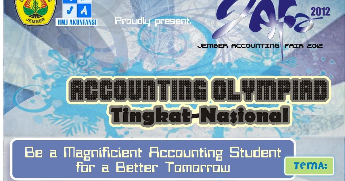 Accounting Olympiad Lomba Akuntansi Tingkat Sma Smk Se Derajat Hmj Akuntansi Unej