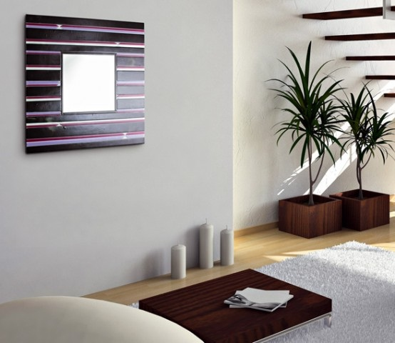 Decora y disena 6 espejos decorativos de pared italianos for Espejos decorativos para pegar en la pared