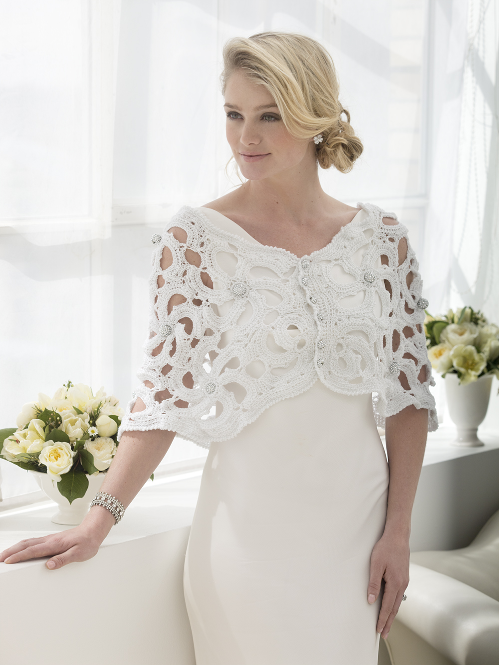 Crochet wedding dress patterns free junglespirit Images