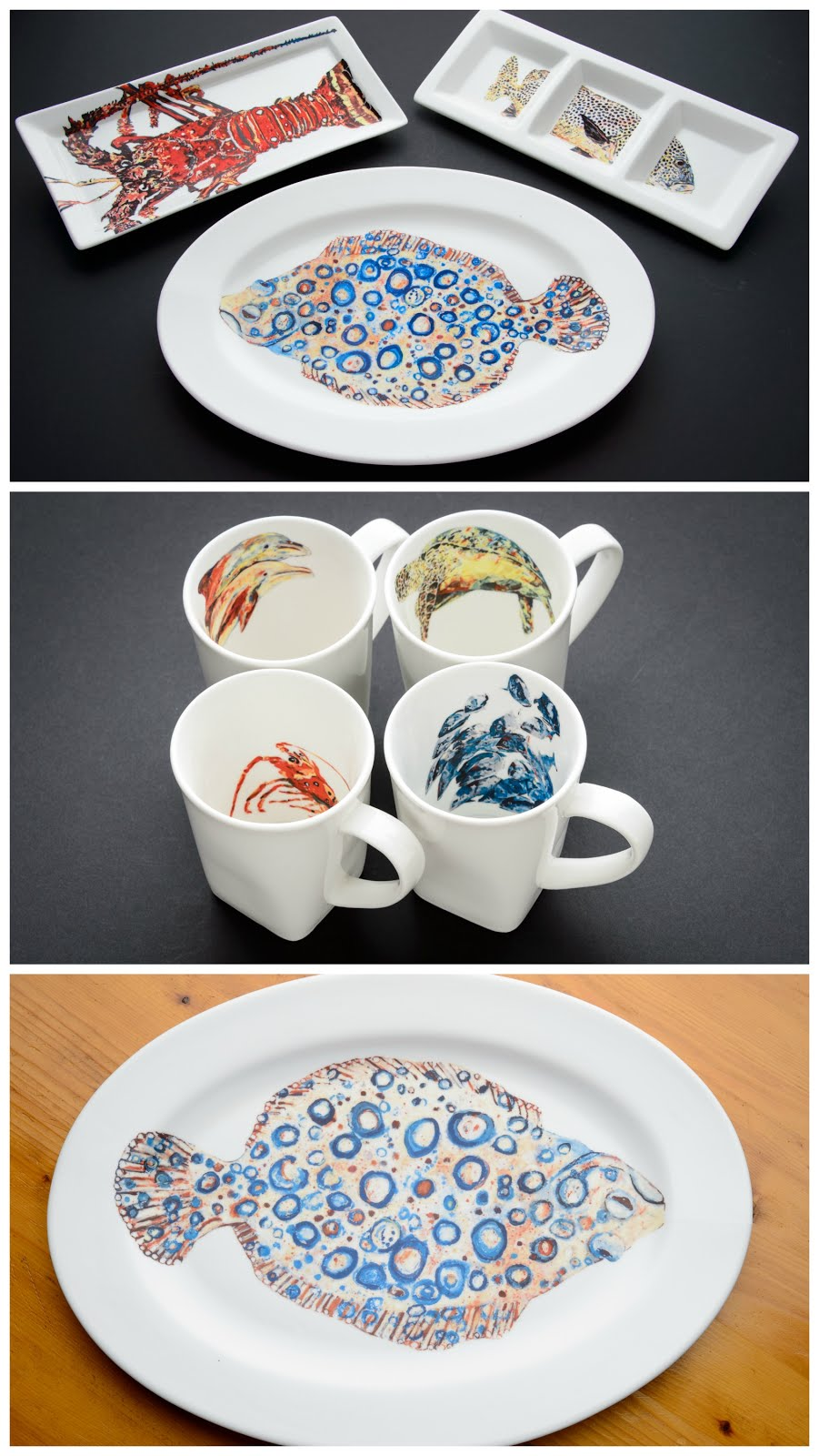 Dishes with Fishes!