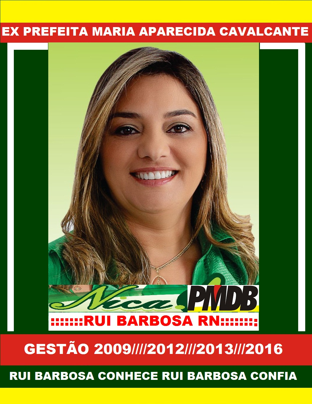 EX PREFEITA NICA RUI BARBOSA RN