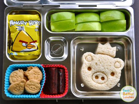 Angry Birds PlanetBox bento school lunch