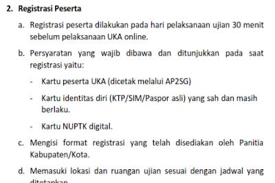 Syarat dan Cara Registrasi Peserta UKG Online 2015