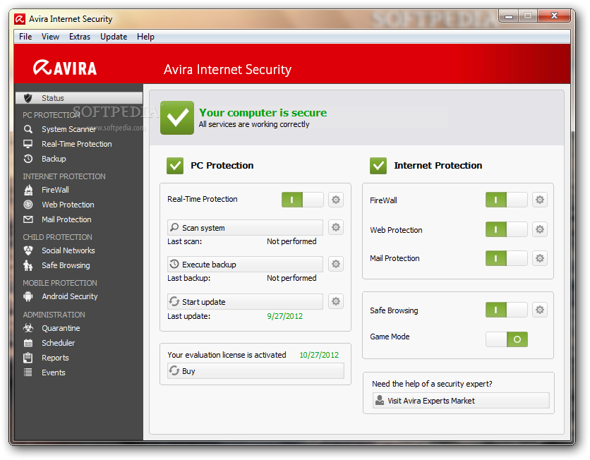 Avira internet security 2017 13.0.0.3885 key