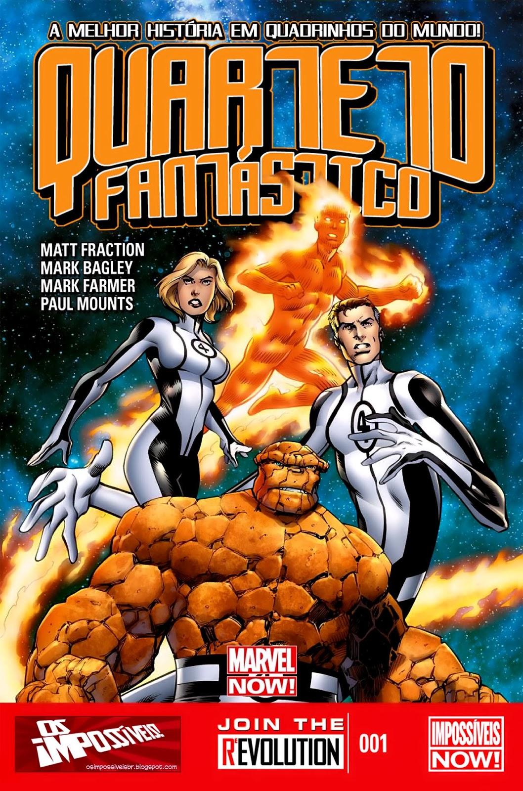 Nova Marvel! Quarteto Fantástico #1