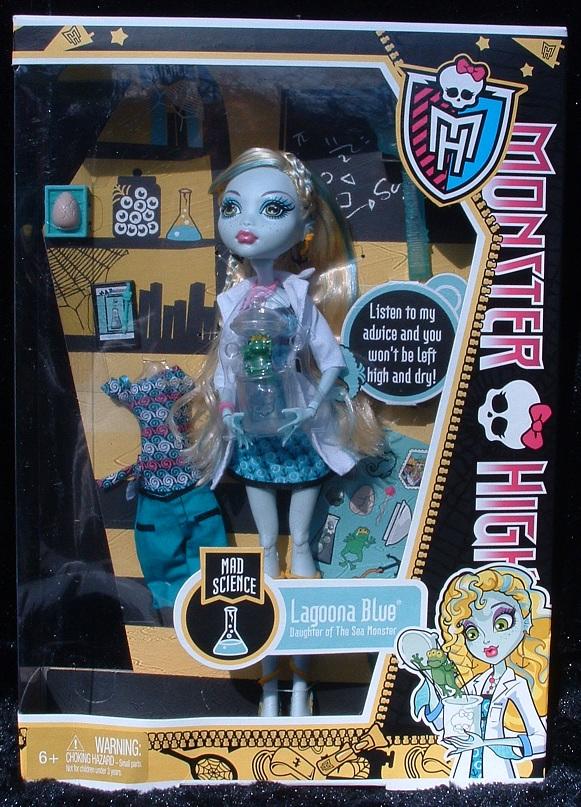 Monster High Lagoona Blue Dolls - Complete List Of Dolls
