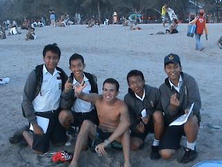 holiday in Kuta beach, Balinese, Bali
