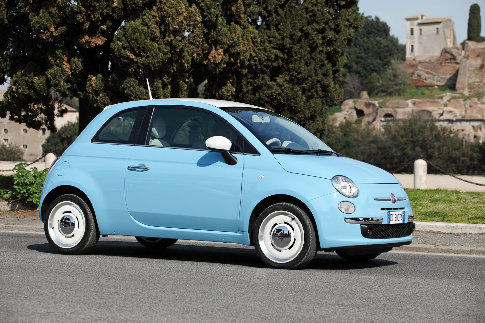 Fresh Photos Of Fiat S Adorable New 500 Vintage 57 Carscoops