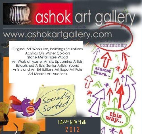 Contemporary International Artists and Art Works: 2013! Ashok Art ...