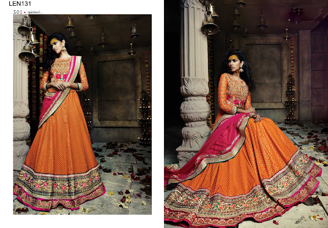 Latest Indian Traditional Look New Lehenga Choli