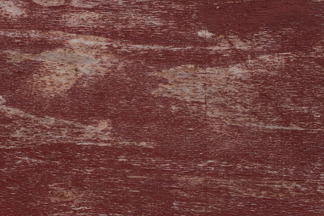 Red Paint Wood Texture September 2015
