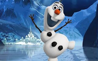 Gratis gambar Olaf Frozen