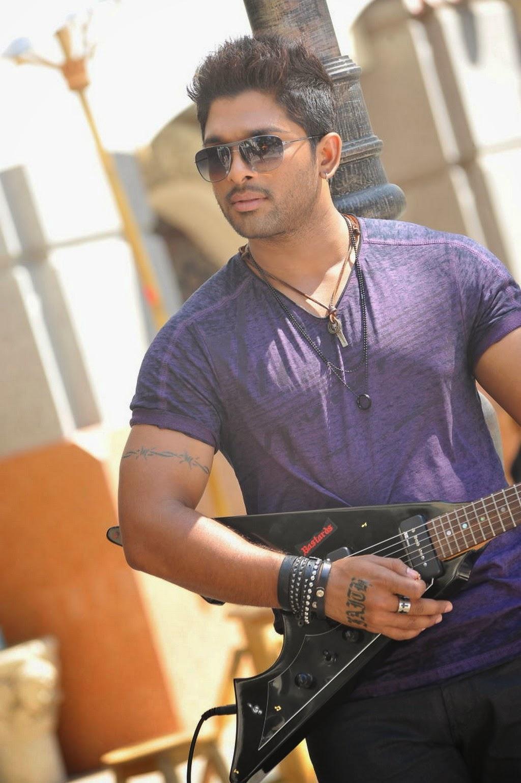 Allu Arjun Stylish Stills In Romeo And Juliets All