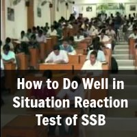 How to Do Well in Situation Reaction Test of SSB