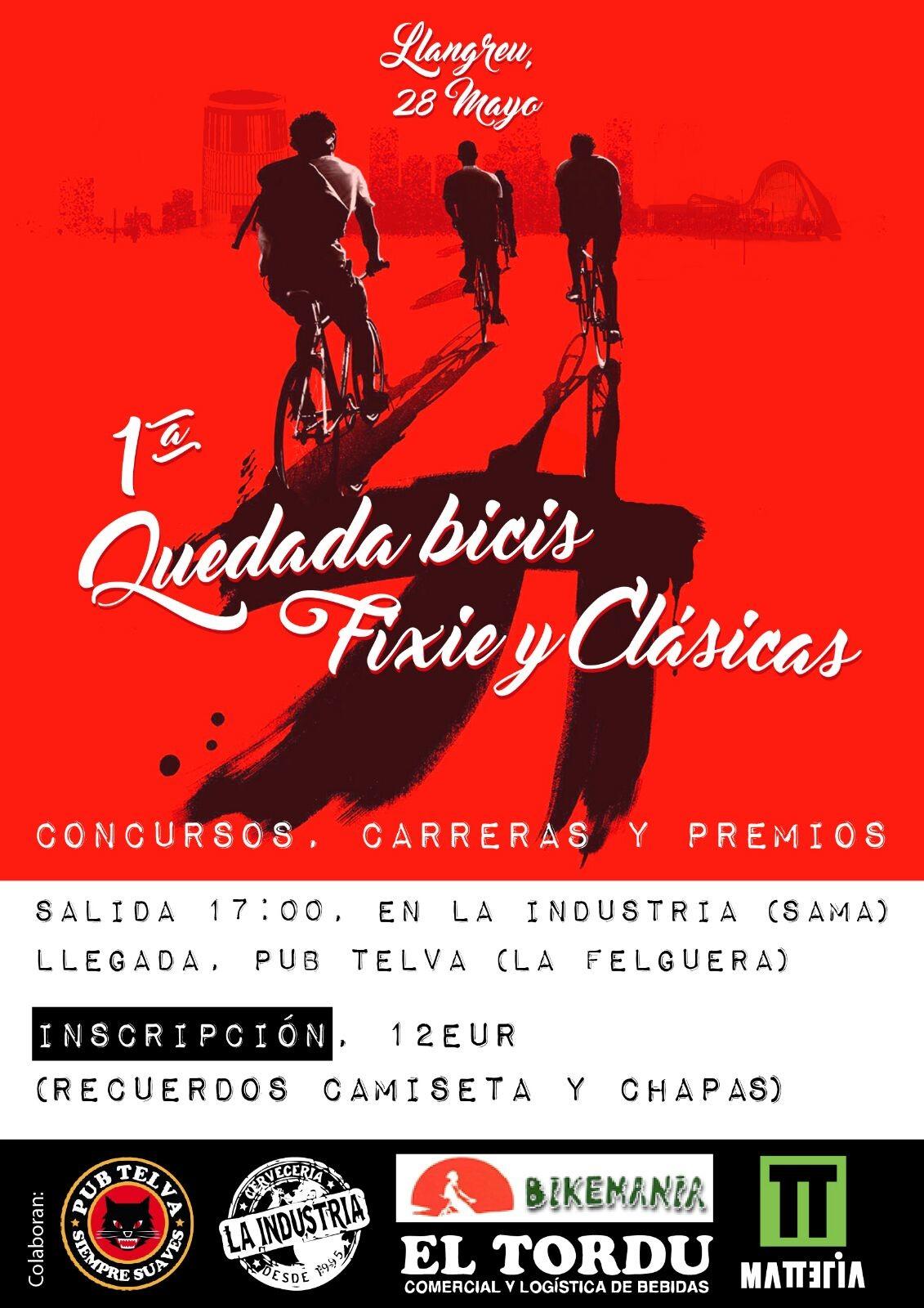 1º Quedada bicis fixie y clasicas