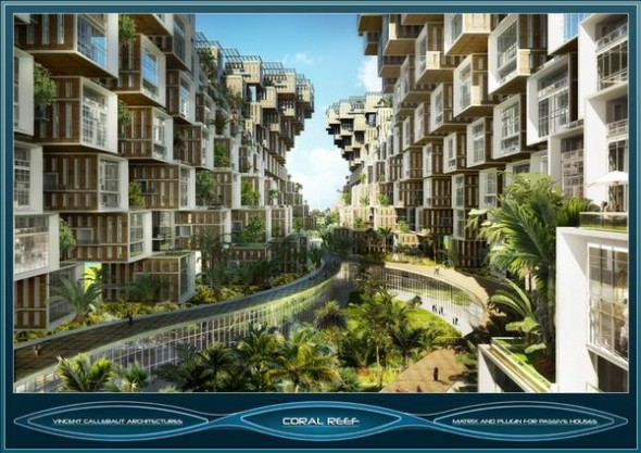 Exotic Fantastic And Attractive House Building Concept In