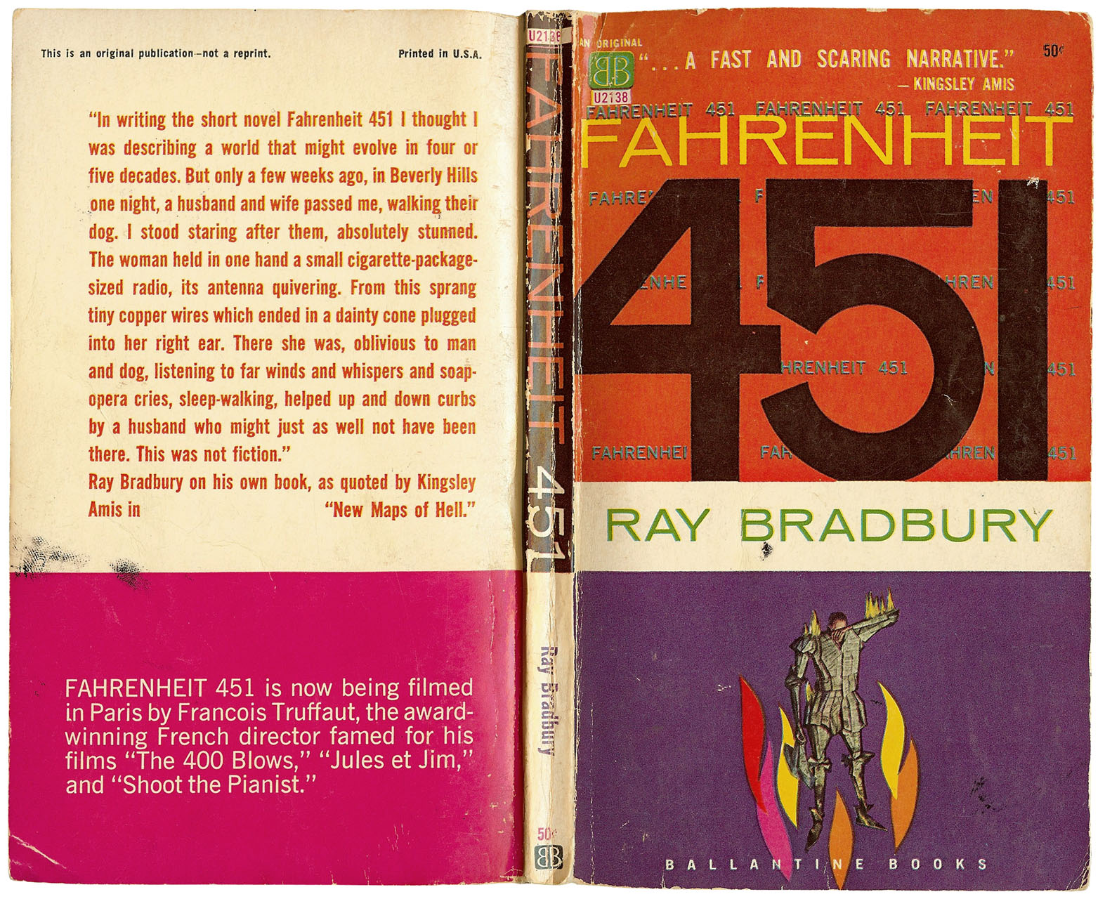 fahrenheit 451 by ray bradbury utopian In ray bradbury's book fahrenheit 451, the main character montag is a firefighter montag lives in a dystopia where books are forbidden if a member of their society is caught with a single.