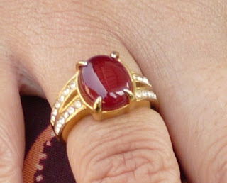 Batu Natural Red Carnelian Special For Ladies