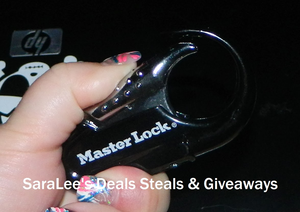 Enter the Backpack Lock Giveaway ends 3/15.