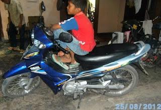 Sepeda Motor bebek Jupiter Z irit dan kencang