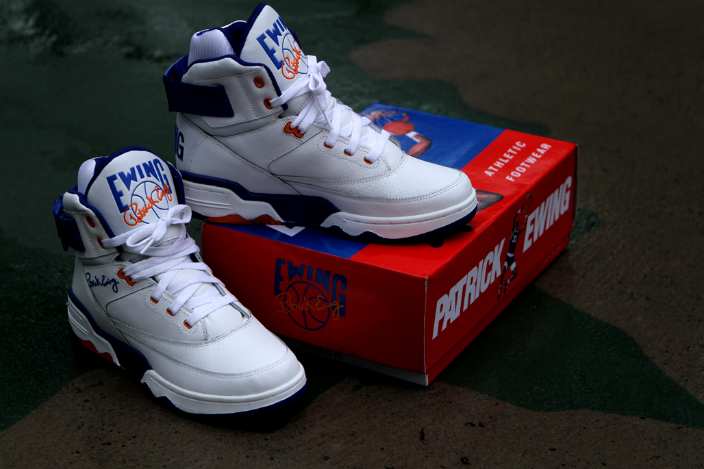 Patrick Ewing Shoes White