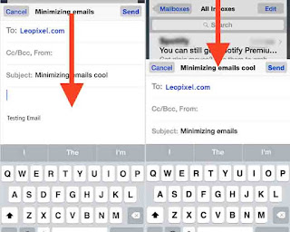 How to Minimize Email in Mail App on iPhone and iPad