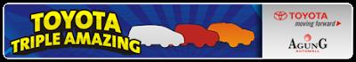 Toyota Triple Amazing Riau - Logo banner