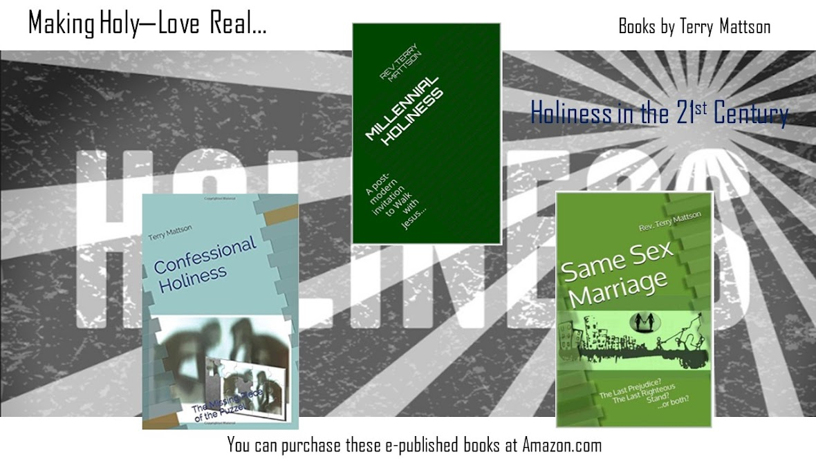 """My e-published books on """"Holiness in the 21st Century"""""""