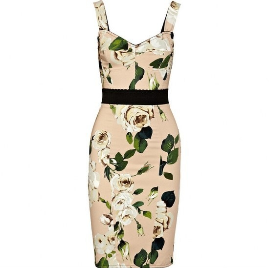 DolceGabbana %C3%87i%C3%A7ekli Elbise Modelleri 2013 2 2013 Çiçekli elbise modelleri