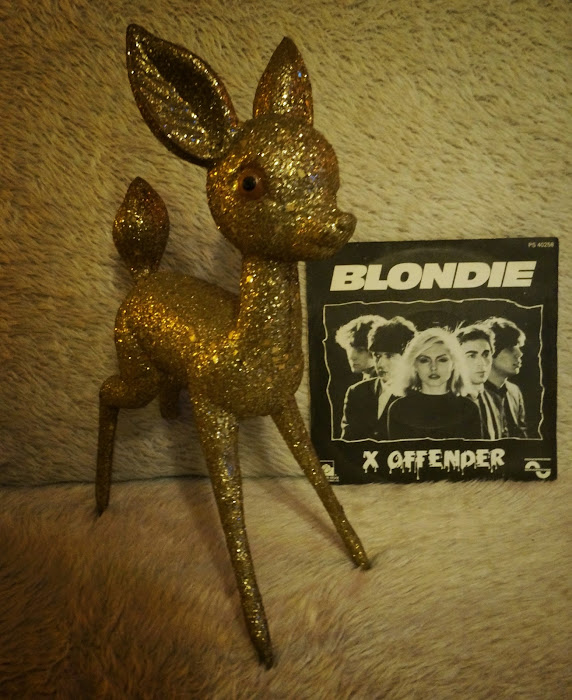 Blondie - X Offender / In the sun - 1977 Private Stock / Sonopresse - french pressing