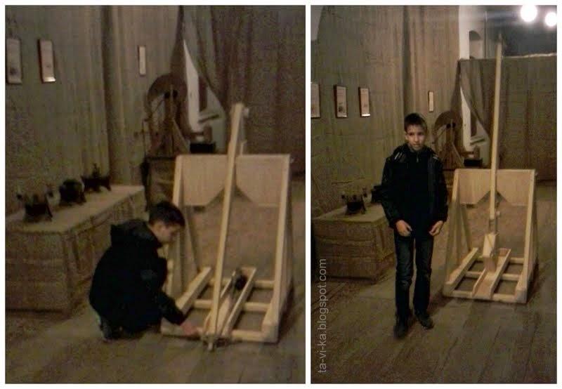"""Выставка """"Механика Леонардо да Винчи"""""""