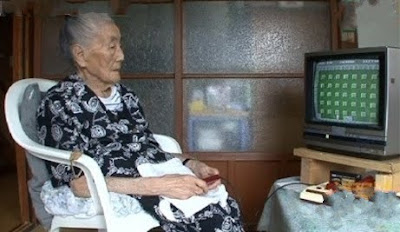 99 Year Old Grandma is Video Game Player
