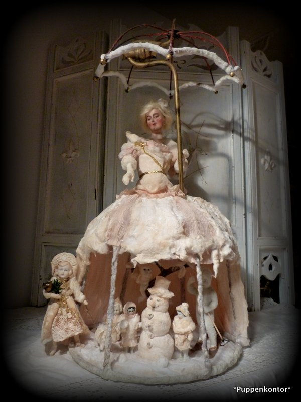 Frau Holle in shabby chic