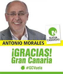 Antonio Morales Presidente del Cabido de Gran Canaria