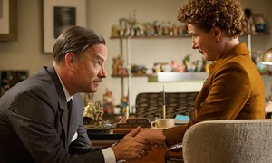 Tom Hanks y Emma Thompson en Al encuentro de Mr. Banks