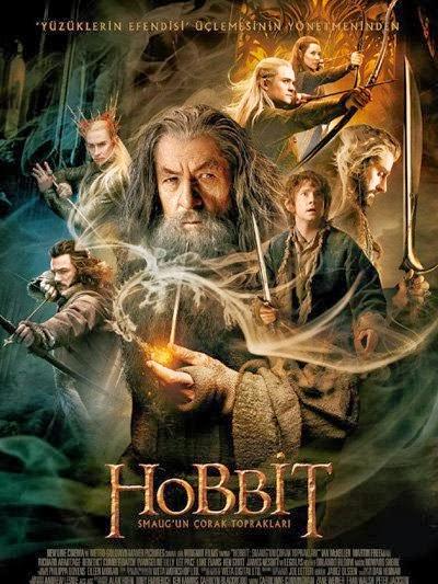 Hobbit: Smaug'un Çorak Toprakları Türkçe Dublaj 1080p Full İndir