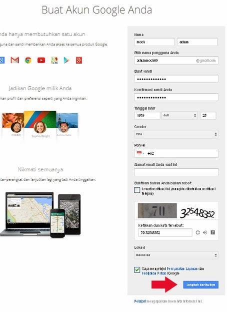 Cara Membuat Email Di Google Mail atau Gmail