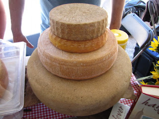 Cheese Wheels from Consider Bardwell Farm, 2011 Vermont Cheesemakers Festival