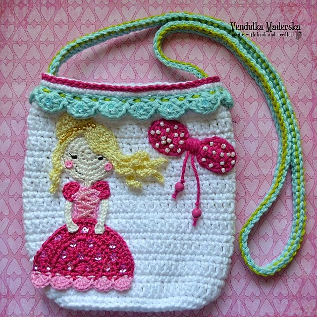 Crochet princess purse pattern