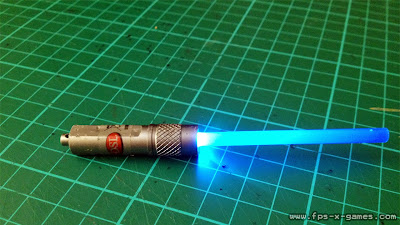 How to make a mini lightsaber