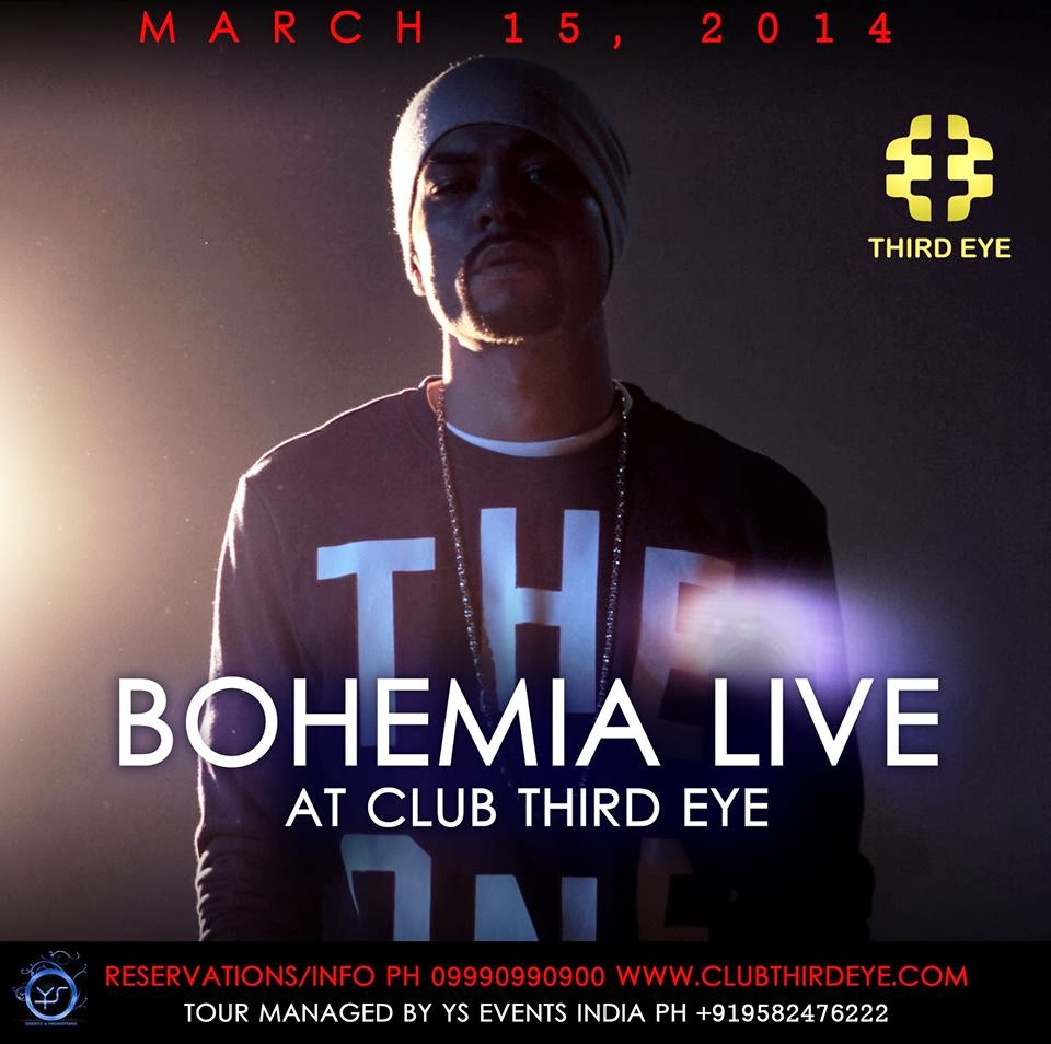 BOHEMIA - LIVE AT CLUB THIRD EYE - MARCH 15, 2014