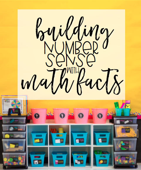 Building Number Sense with Math Facts