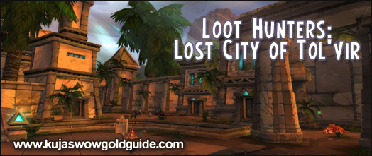 aoe looting soloing lost city of tolvir